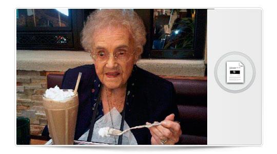 La mujer de 104 años que mintió sobre su edad para tener Facebook…