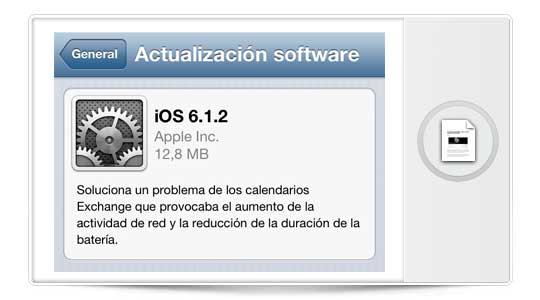 Evasi0n 1.4 es compatible con iOS 6.1.2