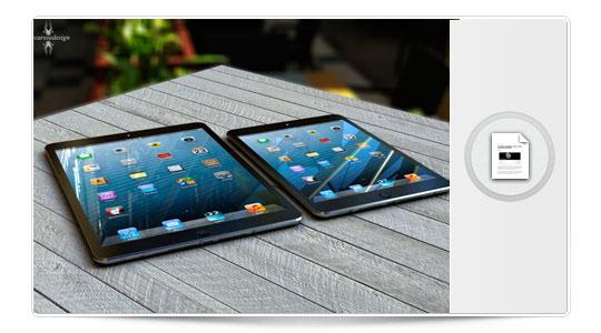 Así será el iPad 5 si aciertan los rumores…