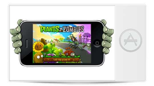 Aplicaciones iPhone: Plants Vs. Zombies gratis por tiempo limitado, no lo dejes pasar
