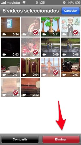 trucos para iphone con ios 6 separar las fotos de los videos