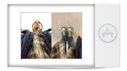 Aplicaciones iPhone: Haz fotos con las dos cámaras a la vez, como con el Galaxy S4…