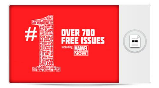 700 cómics para iPhone gratis si te descargas la aplicación de Marvel… EL OFERTOOON…