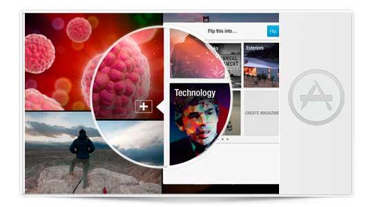 FlipBoard 2.0 permite crear revistas, compartirlas y un montón de cosas más