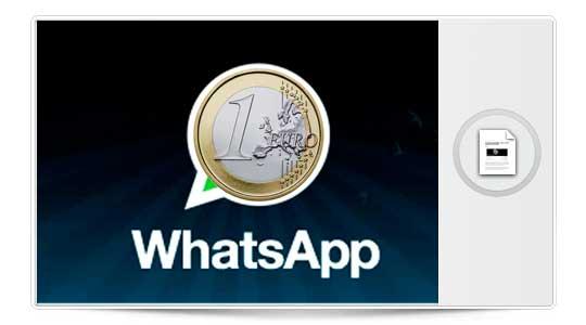 El WhatsApp de pago podría dejar de ser un mito…. Aunque solo sea una vez al año