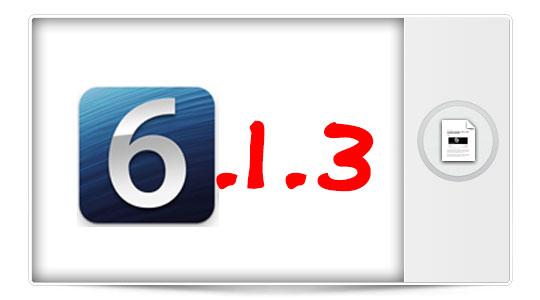 Apple lanza iOS 6.1.3. Una actualización por la que no vale la pena sacrificar el Jailbreak.