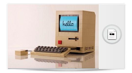10 imágenes del mundo Apple visto por Lego.