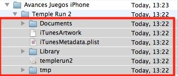 guardar avances juegos iPhone
