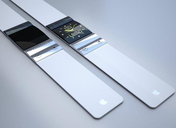 imagen de un concepto de iWatch