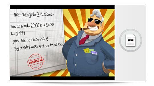 Llega a la AppStore Dársenas, el tesorero corrupto. La parodia para iPhone del caso Bárcenas…