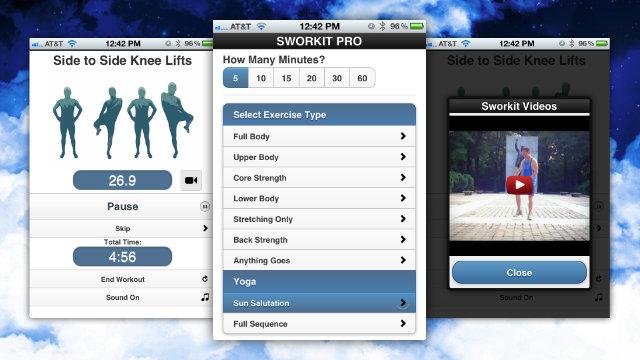aplicaciones iphone gratis hacer ejercicio estar en forma
