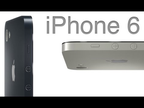Concepto de iPhone 6 sin botón Home
