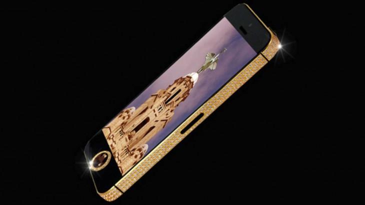 El smartphone más caro del mundo: Un iPhone 5 para millonarios con el gusto en el cu..lo.