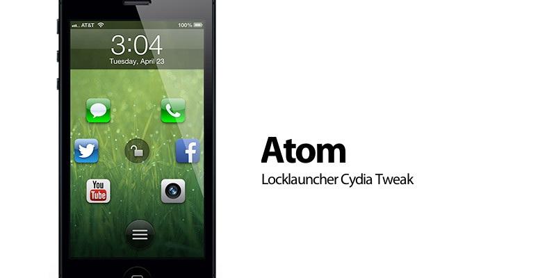 Cambio total en nuestro LockScreen con Atom [CYDIA]