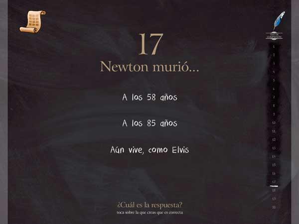Isaac-Newton-App