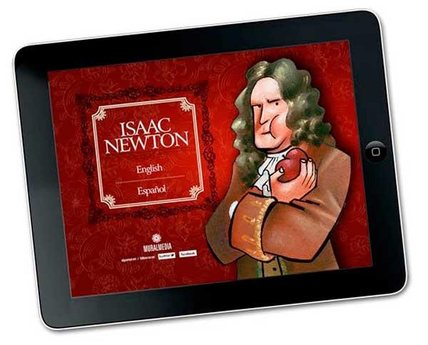 La vida de Isaac Newton convertida en App para iPad