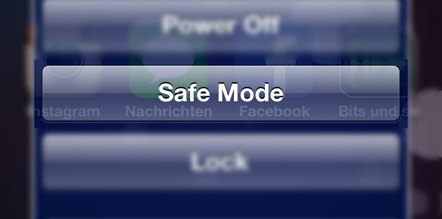 Como Iniciar tu iPhone en Safe Mode si tienes problemas con el JailBreak