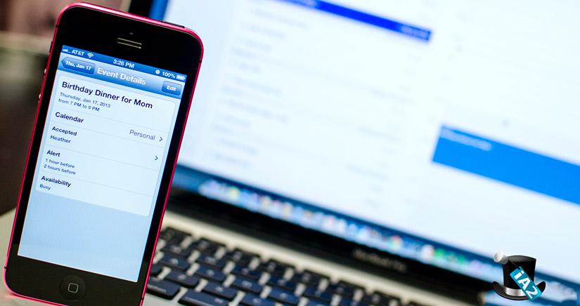 Abrakadabra XLIX, Trucos para iPhone con iOS 6: Como moverse rápidamente por el calendario del iPhone