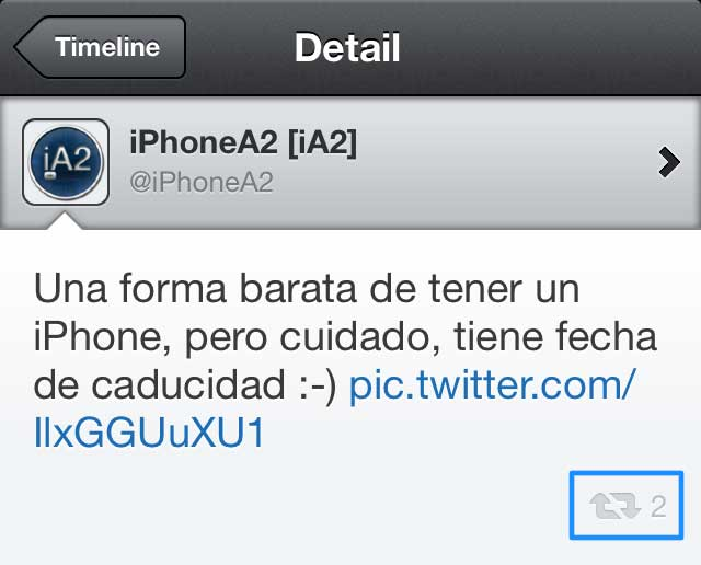 Tweetbot 2.8 iPhone