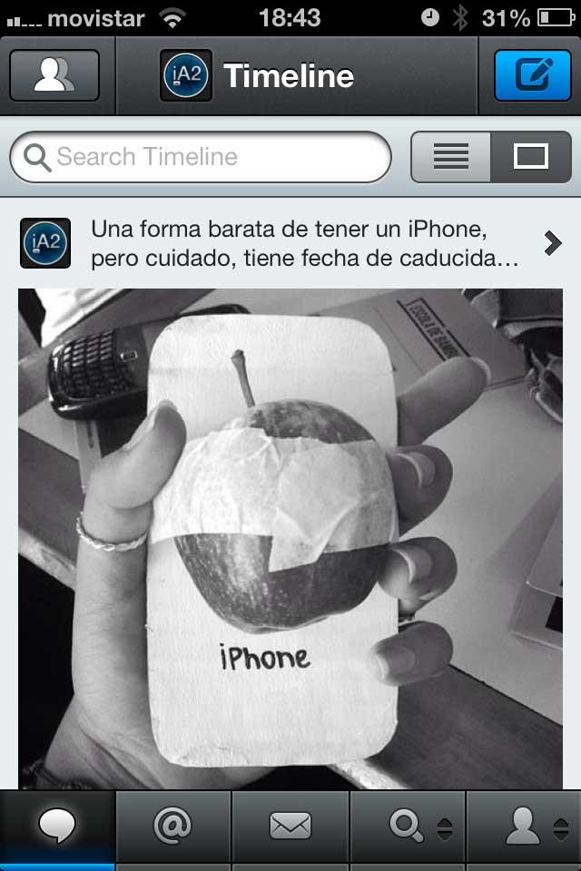 Tweetbot 2.8 iPhone