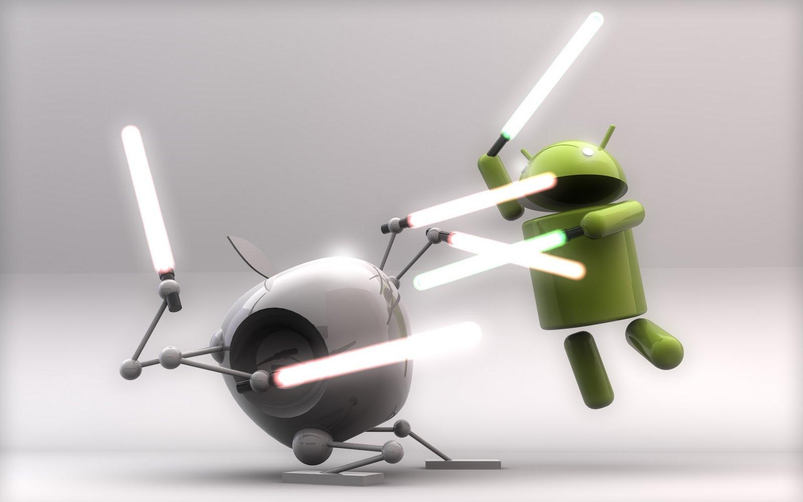 Guerra de bofetones entre iPhone y Android en un gran anuncio de Microsoft, No te lo pierdas