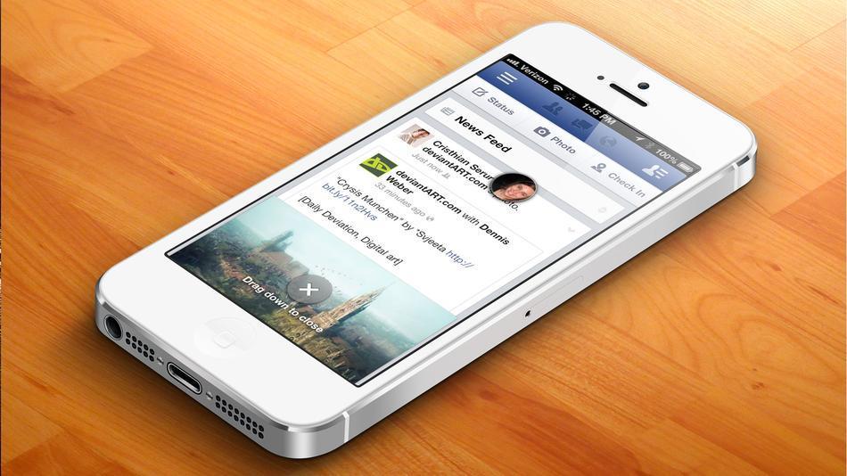Un nuevo Tweak podrá poner el chat de Facebook en cualquier lugar del iPhone, Como hace Facebook Home…