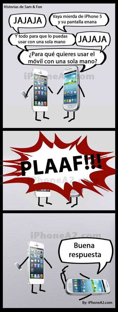 sam-&-fon, humor iphone, capitulo 3