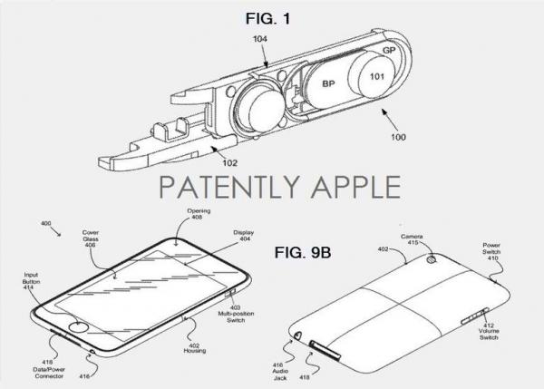 patentes para un iphone resistente al agua