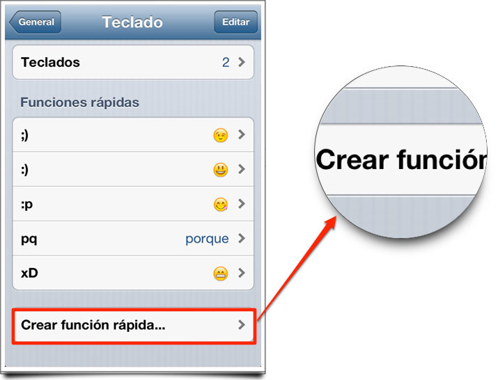 Trucos iOS