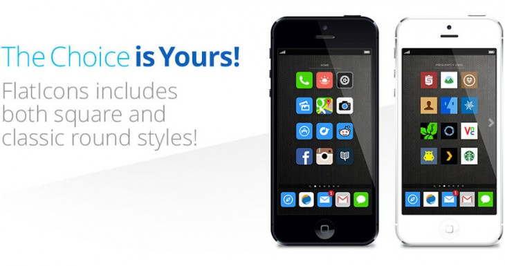 La interfaz plana de iOS 7 ahora en tu iPhone gracias a FlatIcons [CYDIA]