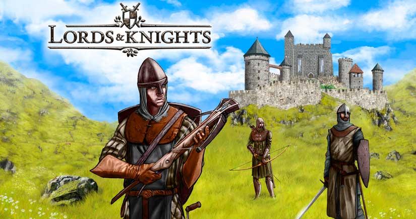 Lords & Knights, la mejor estrategia medieval en tu iPhone