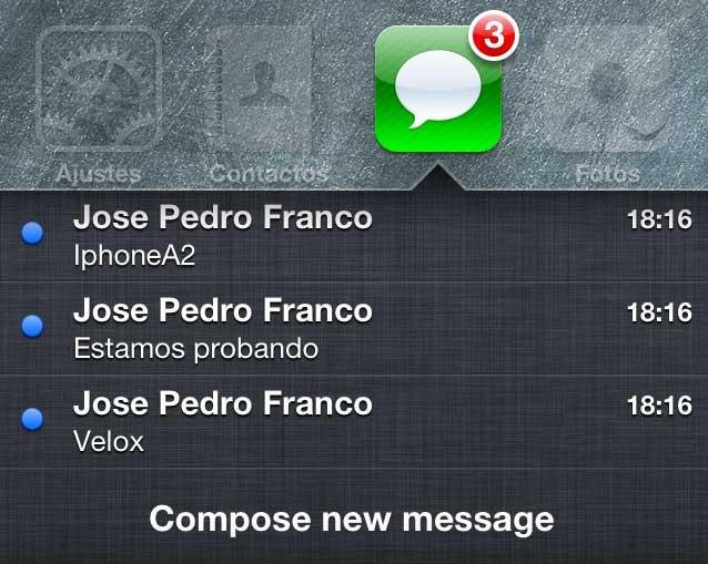 Velox-mensajes