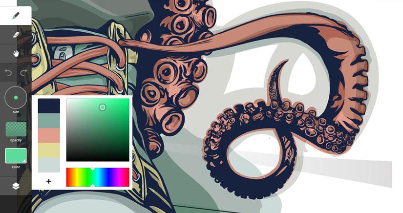 Aplicaciones iPhone: Adobe Ideas, una app para dibujantes e ilustradores que pasa a ser gratis.