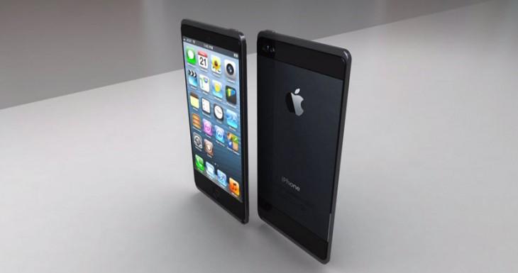Un concepto del iPhone 6 Ultra delgado y resistente al agua