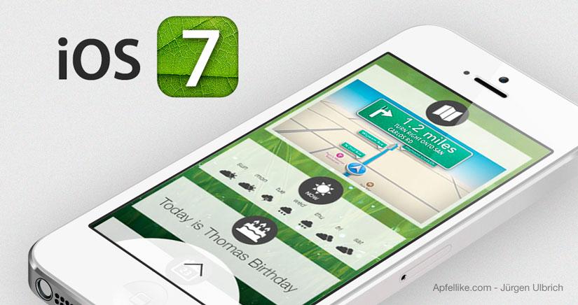 Nuevo Concepto de iOS 7 centrado en el Lock Screen