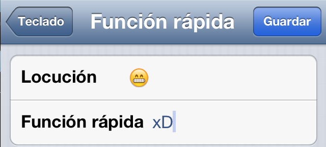 Trucos iPhone Emoticonos
