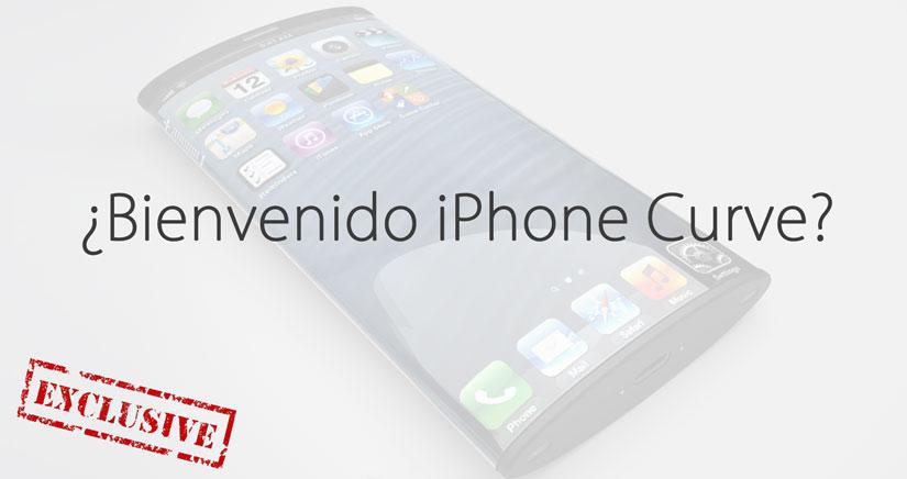 EXCLUSIVA!!! Descubrimos un nuevo modelo de iPhone llamado Curve.