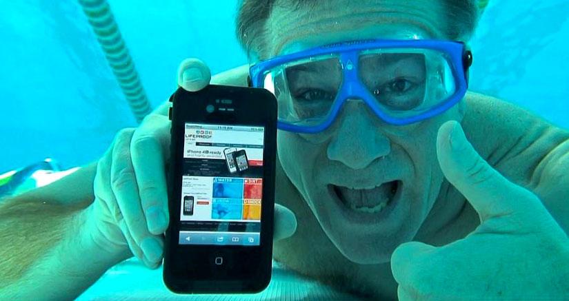 """Apple deja """"patente"""" sus ganas de crear un iPhone sumergible…"""