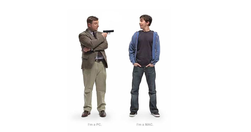 """Microsoft se venga de Apple con un anuncio al estilo """"soy un mac, soy un pc"""""""