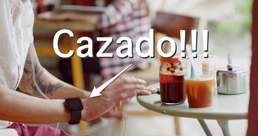 [EXCLUSIVA] Encontramos el supuesto iWatch del anuncio del iPhone.