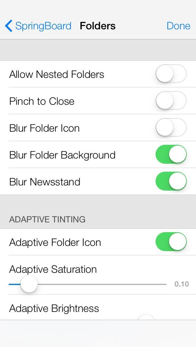 Funciones secretas iOS 7