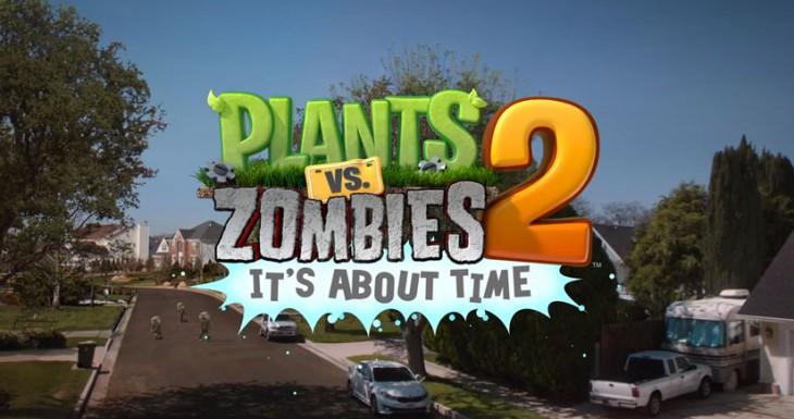 Plants Vs. Zombies 2 llegará el 18 de Julio y será gratuito