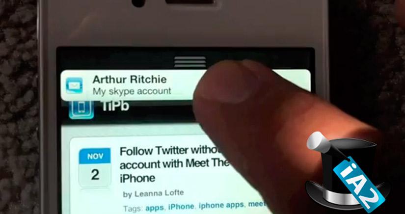 Abrakadabra LIV, Trucos para iPhone con iOS 6: Cómo quitar los Banners de notificaciones rápidamente