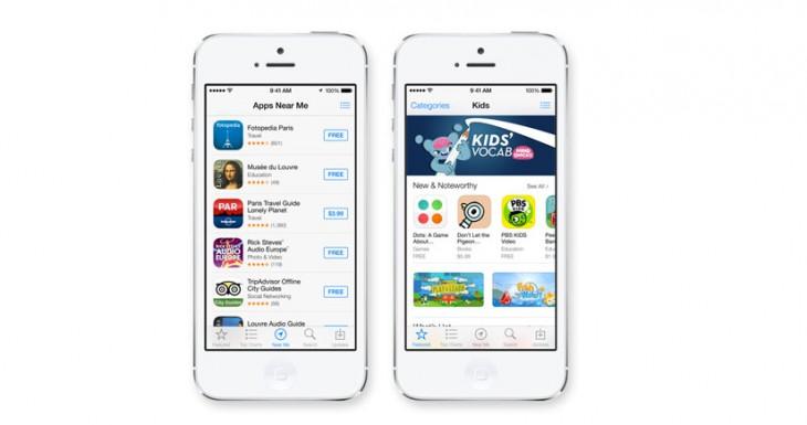 Así te avisa iOS 7 de que ha actualizado una aplicación de forma automática