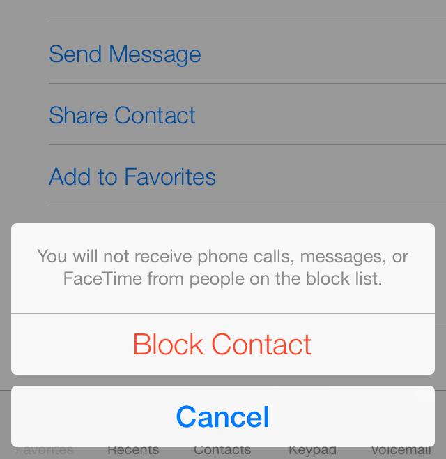iOS-7-bloqueo de llamadas