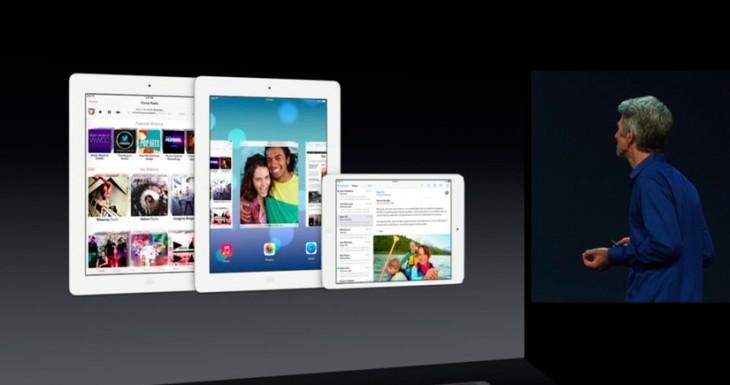 El primer video de iOS 7 corriendo en un iPad, y parece de verdad…