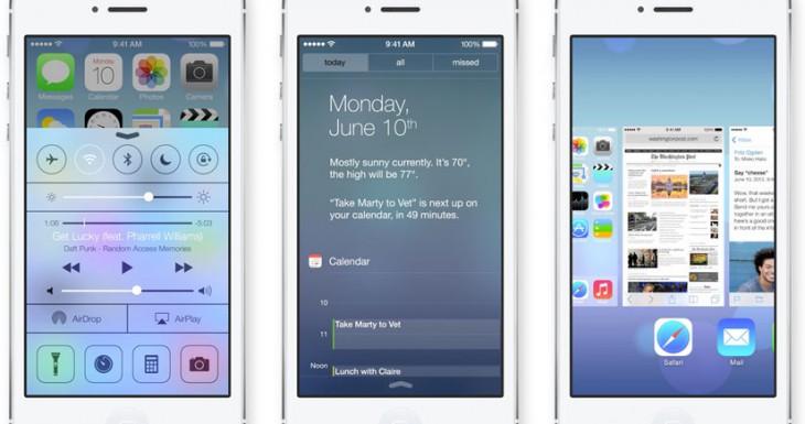 iOS 7 tendrá la Beta disponible para desarrolladores hoy mismo