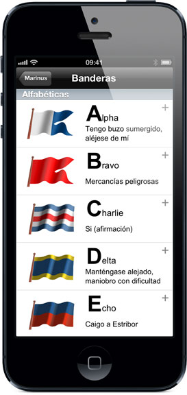 Apps náuticas iPhone