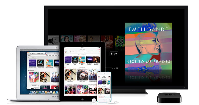 iTunes Radio estará disponible gratis…