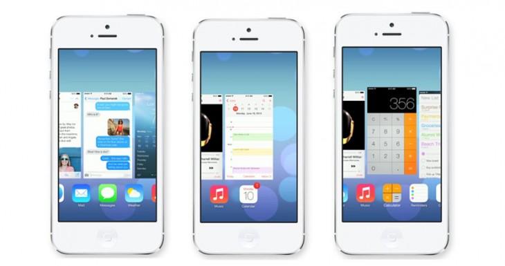 La multitarea en iOS 7 ahora es inteligente y real, ya era hora…
